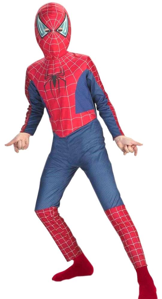 Как сделать костюм черного человека-паука