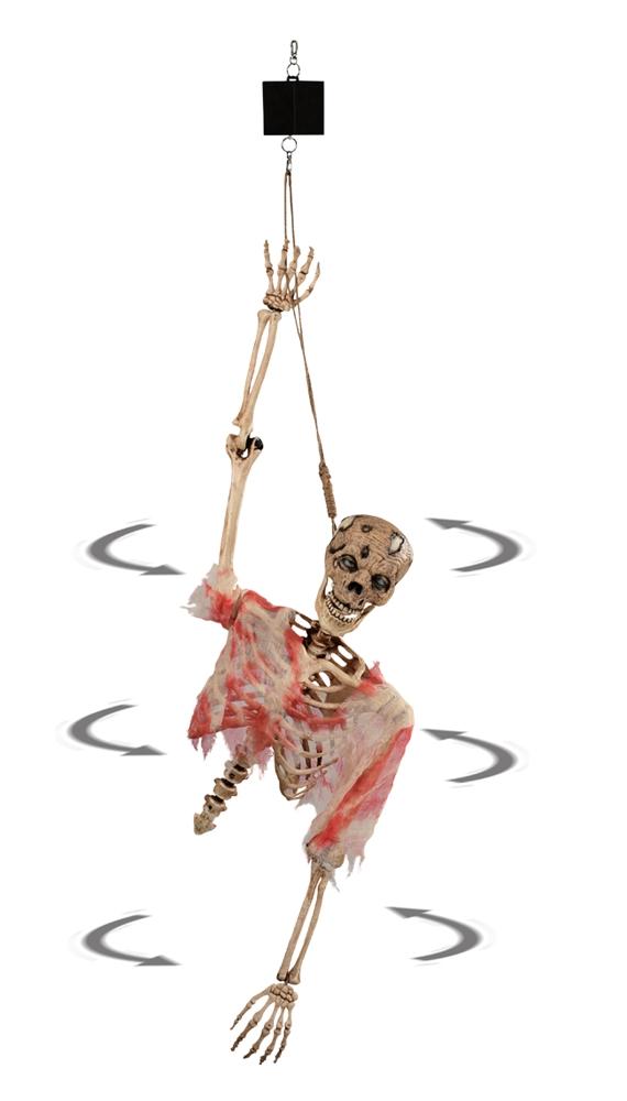 Spinning Zombie Torso Prop