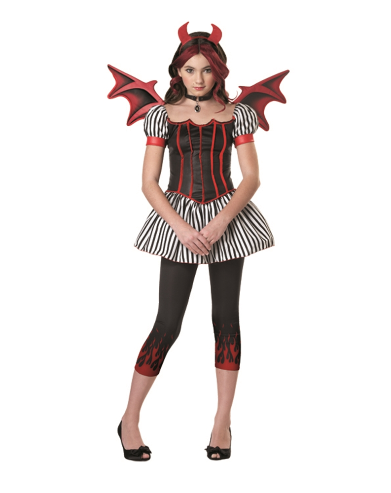 Image of Strangeling Devil Tween Costume