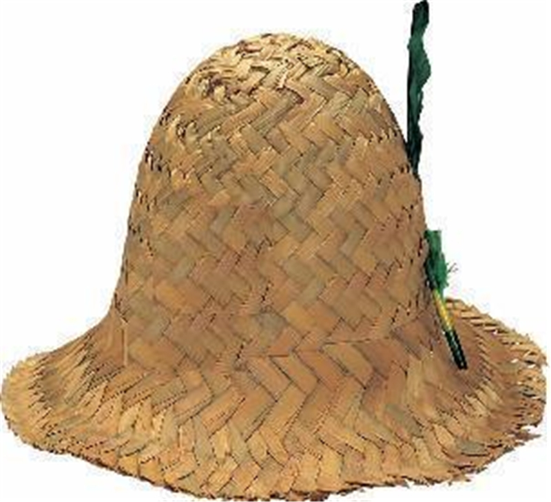 Straw Hillbilly Adult Hat