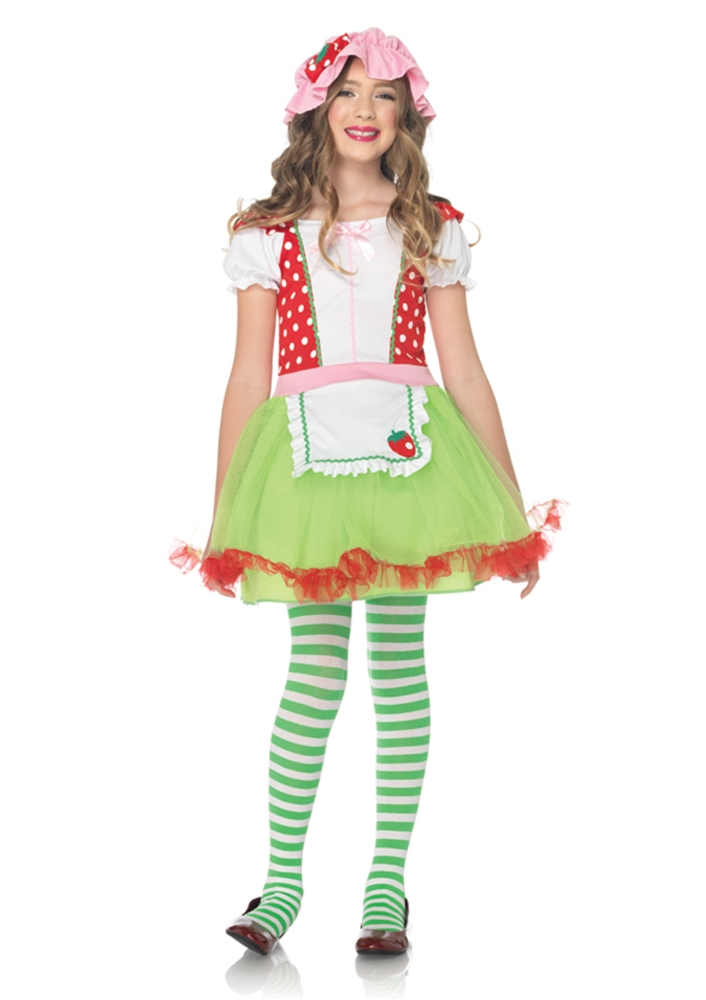 Strawberry Sweetie Dress Child Costume