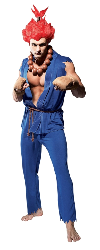 Street Fighter Akuma Adult Mens Costume 6801