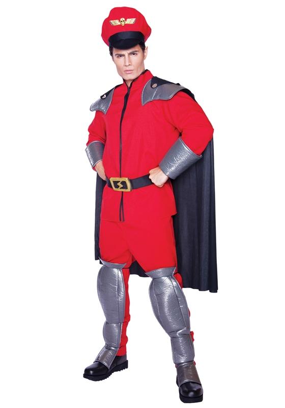 [Street Fighter Super M. Bison Adult Mens Costume] (M Bison Costume)