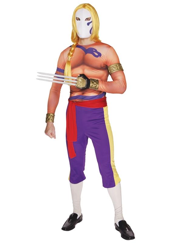 Street Fighter Super Vega Adult Mens Costume (Costumes Vegas)