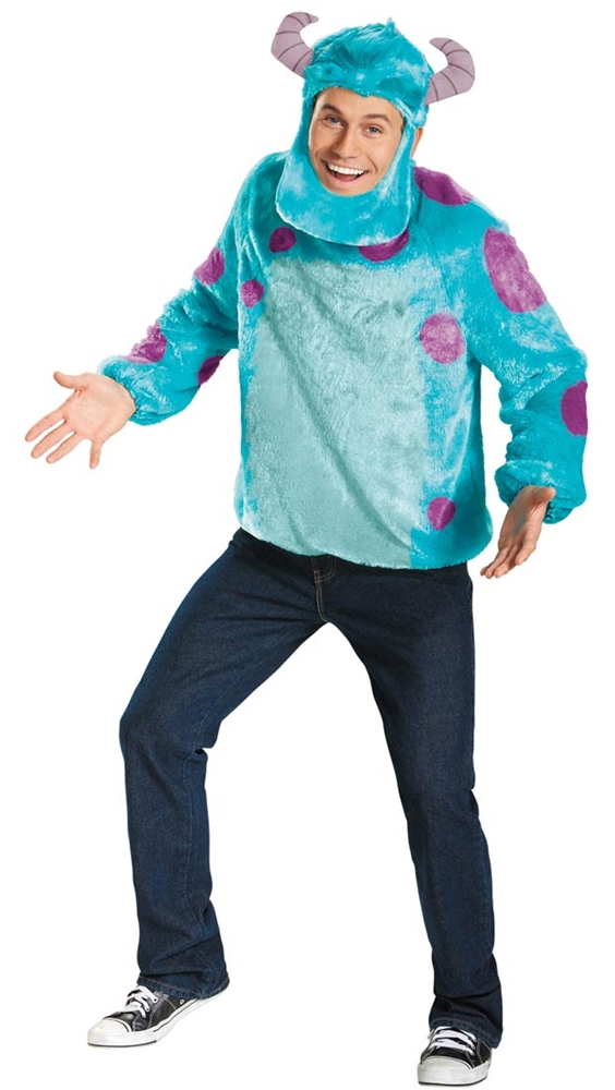 Monsters University Deluxe Adult Mens Sulley Costume