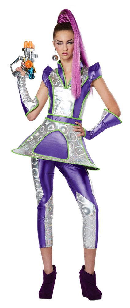 Supa Nova Girl Teen Costume
