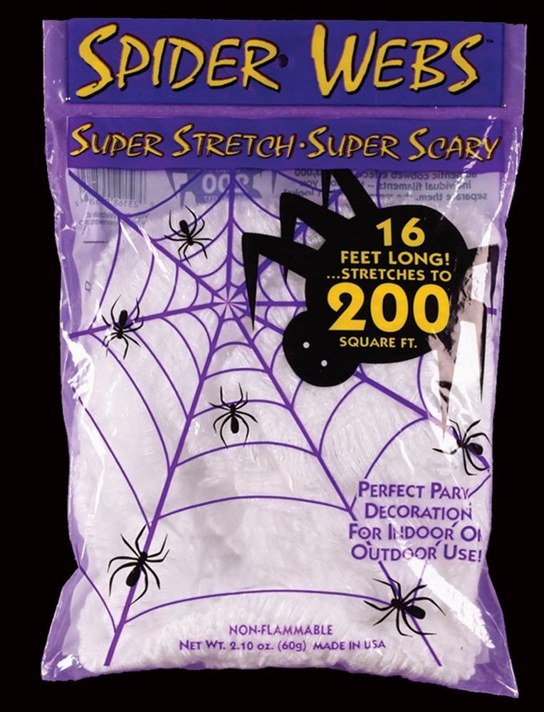 Super Stretch Spider Web White