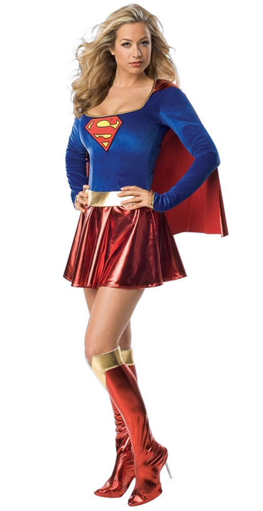 Supergirl Adult Womens Costume