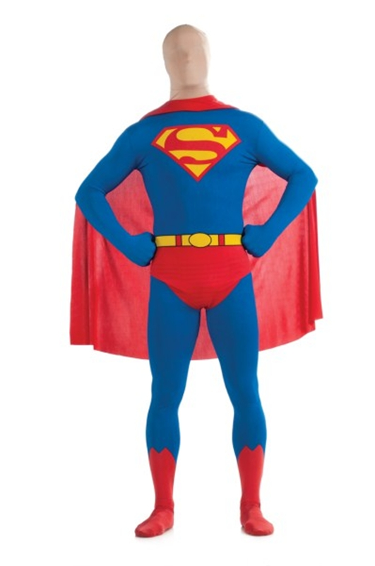 Superman 2nd Skin Adult Men Costume