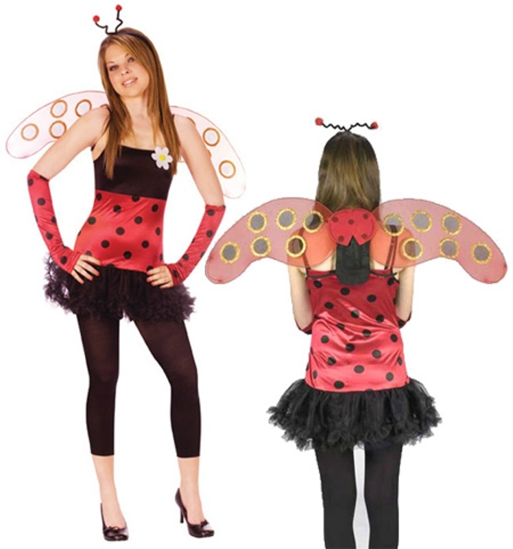 Lovely Lady Bug Junior Costume