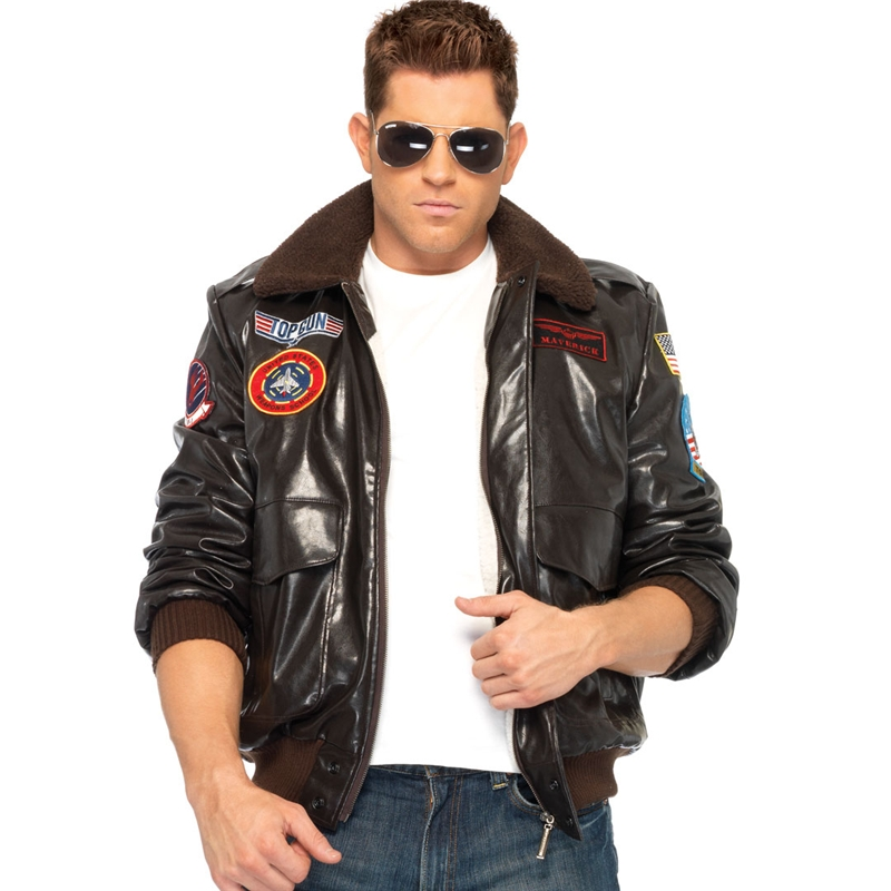 Top Gun Adult Mens Bomber Jacket