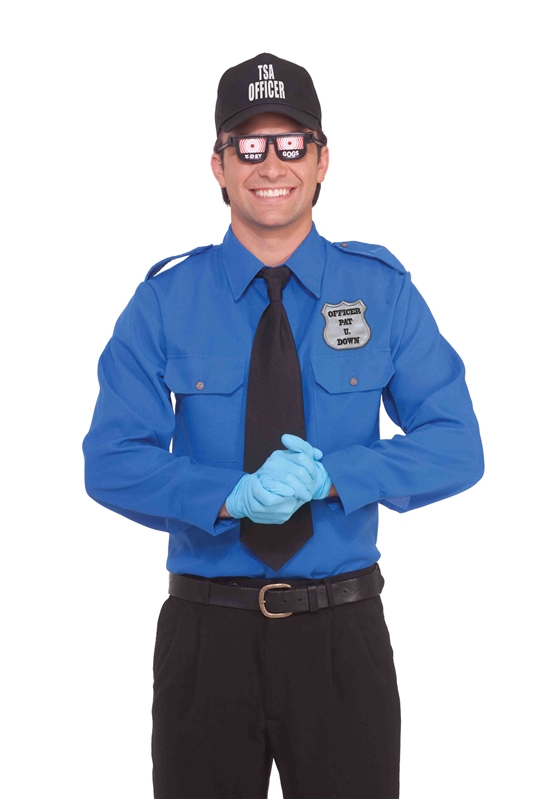 TSA Officer Adult Costume