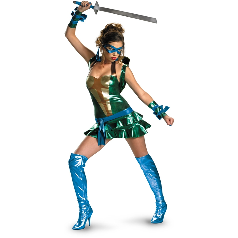 Teenage Mutant Ninja Turtles Sexy Leonardo Adult Costume 19278