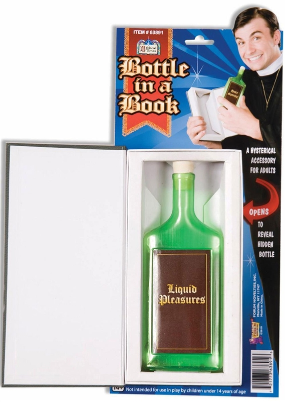 The Good Book Bottle In A Book