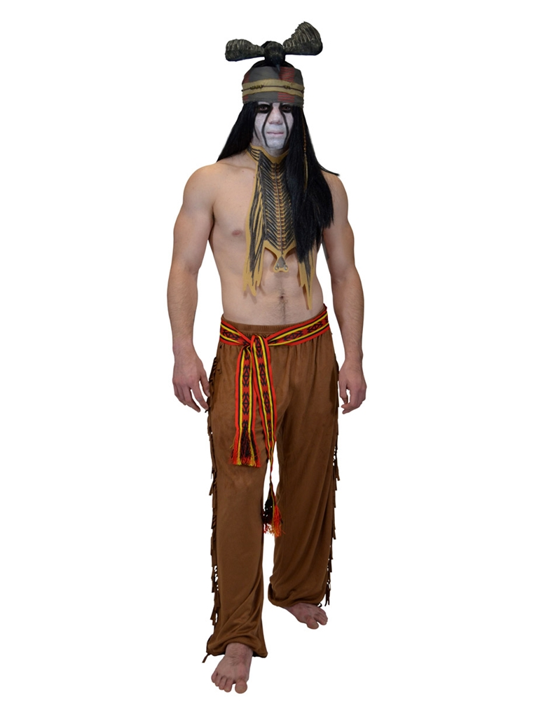 Lone Ranger Tonto Adult Mens Costume (Ships for $1.99)