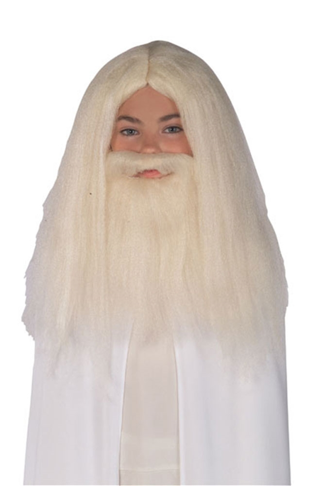 The Lord of the Rings Gandalf Beard & Wig Set
