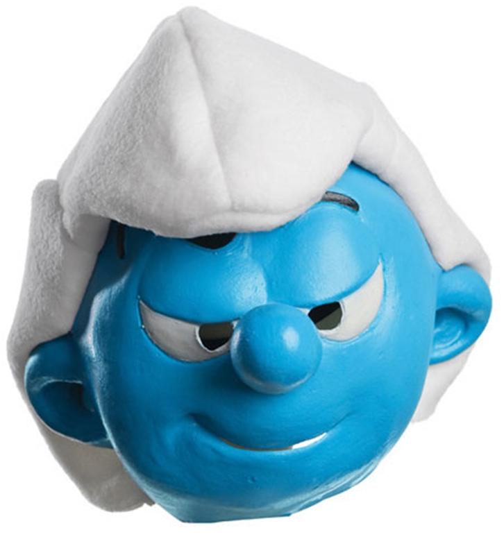 The Smurfs Hefty Child Mask