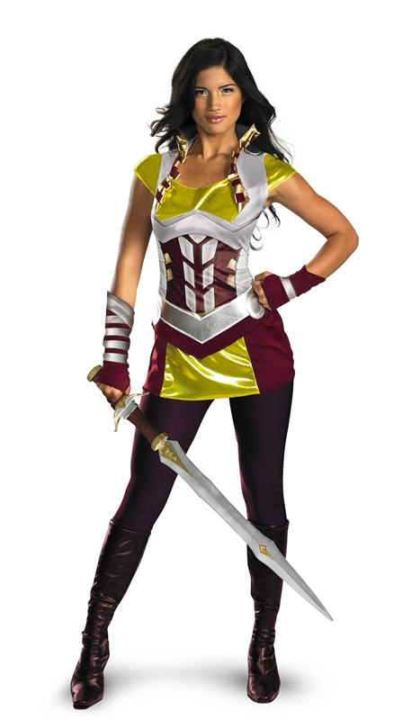 Marvel Deluxe Thor Sif Adult Womens Costume