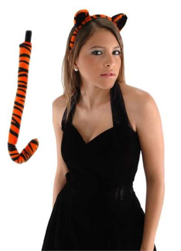 Tiger Ears & Tail Costume Set
