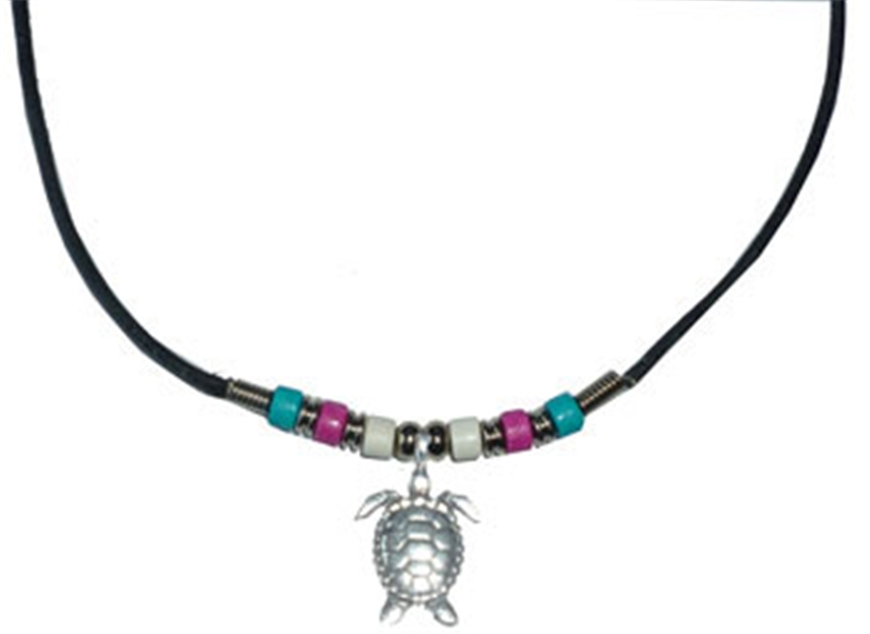 Turtle Beaded Necklace