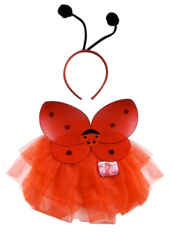 Image of Lady Bug Tutu Accessory Kit