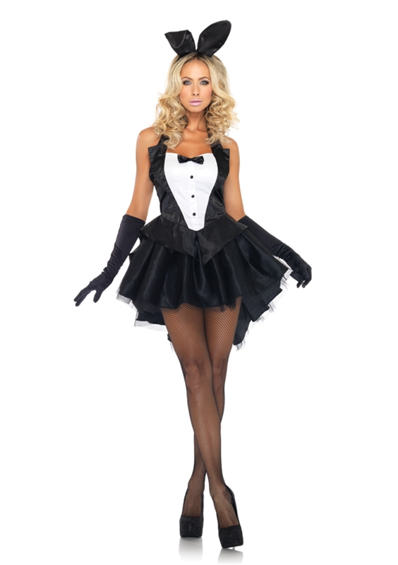 Tux and Tails Bunny Adult Womens Costume