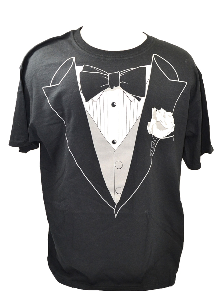 Tuxedo T-Shirt Adult Mens Costume