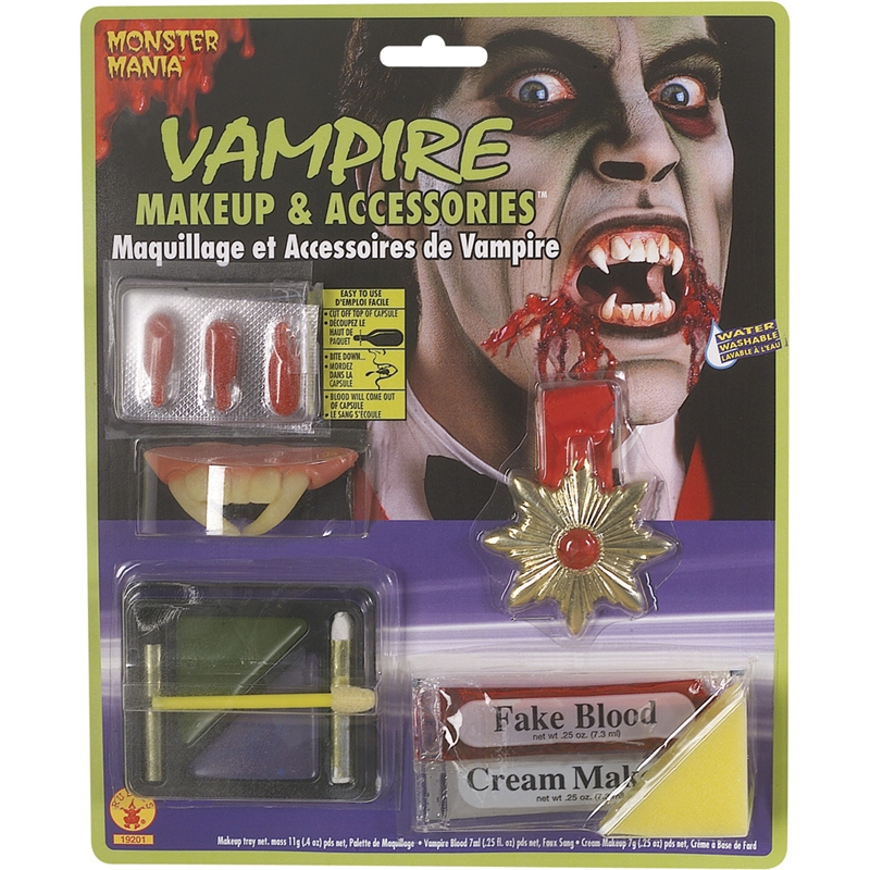 Vampire Makeup And Accessories by Rubies