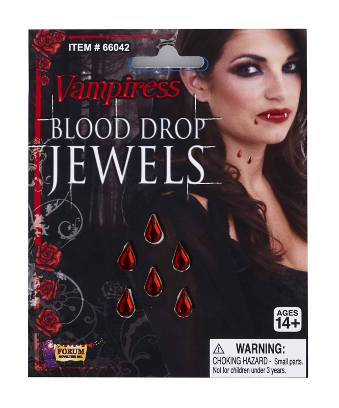 Vampiress Blood Drop Jewel
