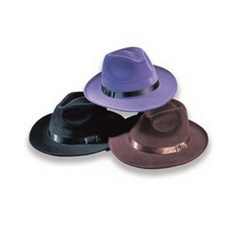 Купить Velvet Pimp Hat Assorted Colors