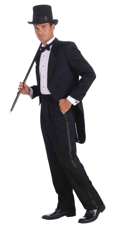 Vintage Hollywood Tuxedo Adult Costume