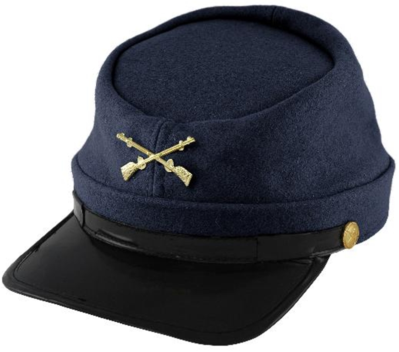 Wool Union Soldier Kepi Cap by Jacobson Hat Co