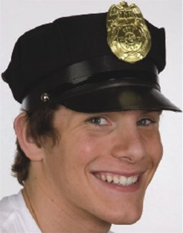 Police Adult Hat by Jacobson Hat Co