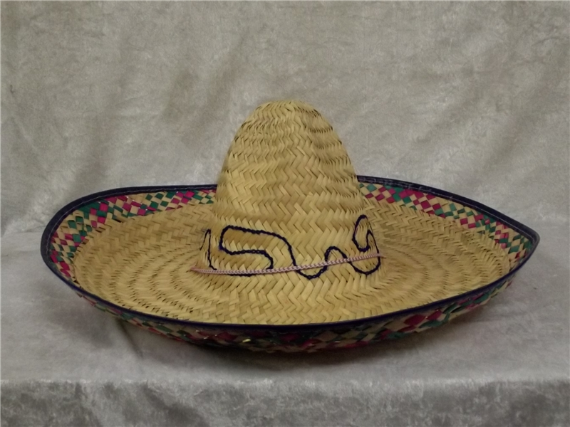 Sombrero Straw Adult Hat