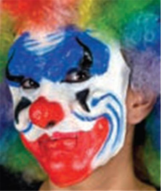 Woochie Crazy Clown Prosthetics by Cinema Secrets