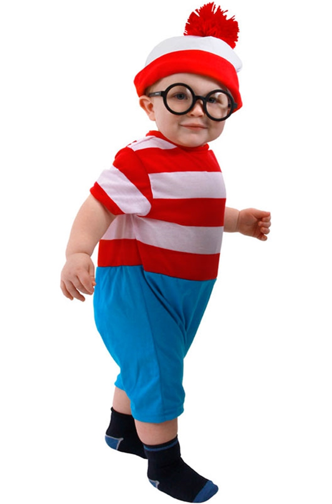 Waldo Infant Onesie Costume
