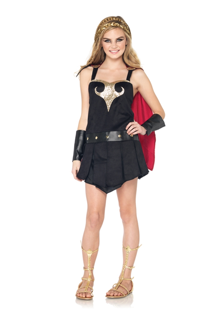 Warrior Princess Girls Costume