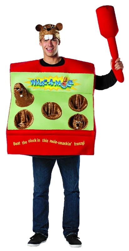 Whac-A-Mole Arcade Game Adult Costume