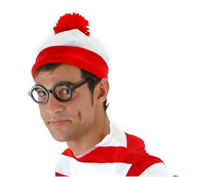 Wheres Waldo Beanie Hat