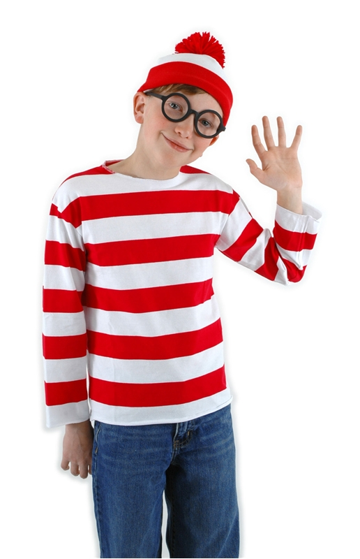 Wheres Waldo Child Costume