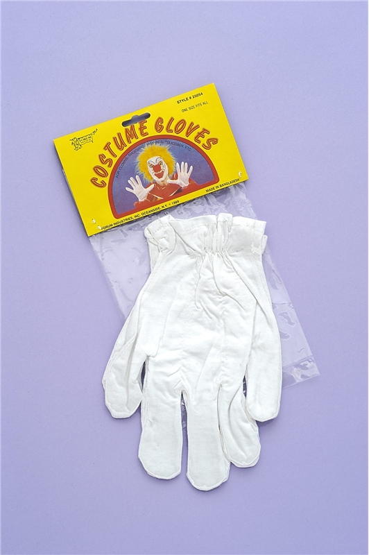 White Gloves by Forum Novelties