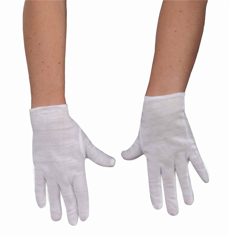 White Child Gloves by Forum Novelties