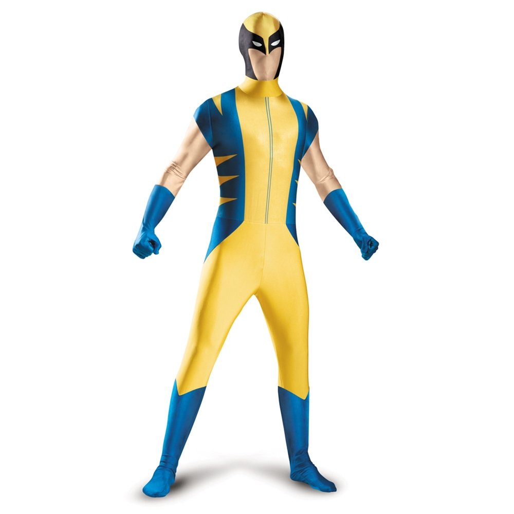 Wolverine Adult Mens Bodysuit Costume