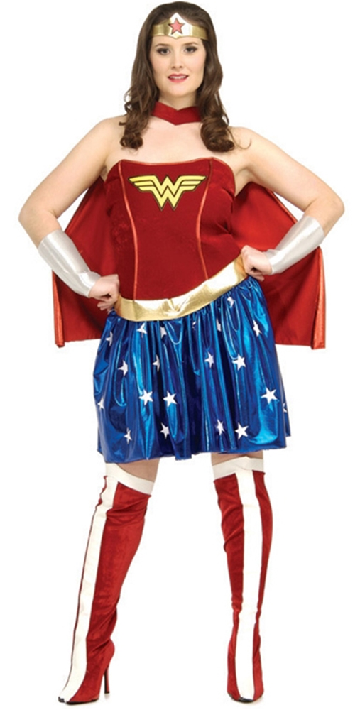Wonder Woman Adult Womens Plus Size Costume