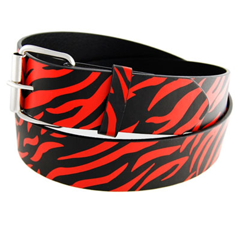 Zebra Adult Belt