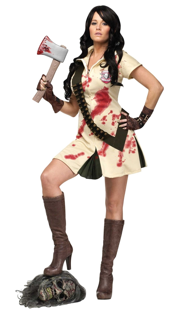 Zombie Hunter Adult Womens Costume