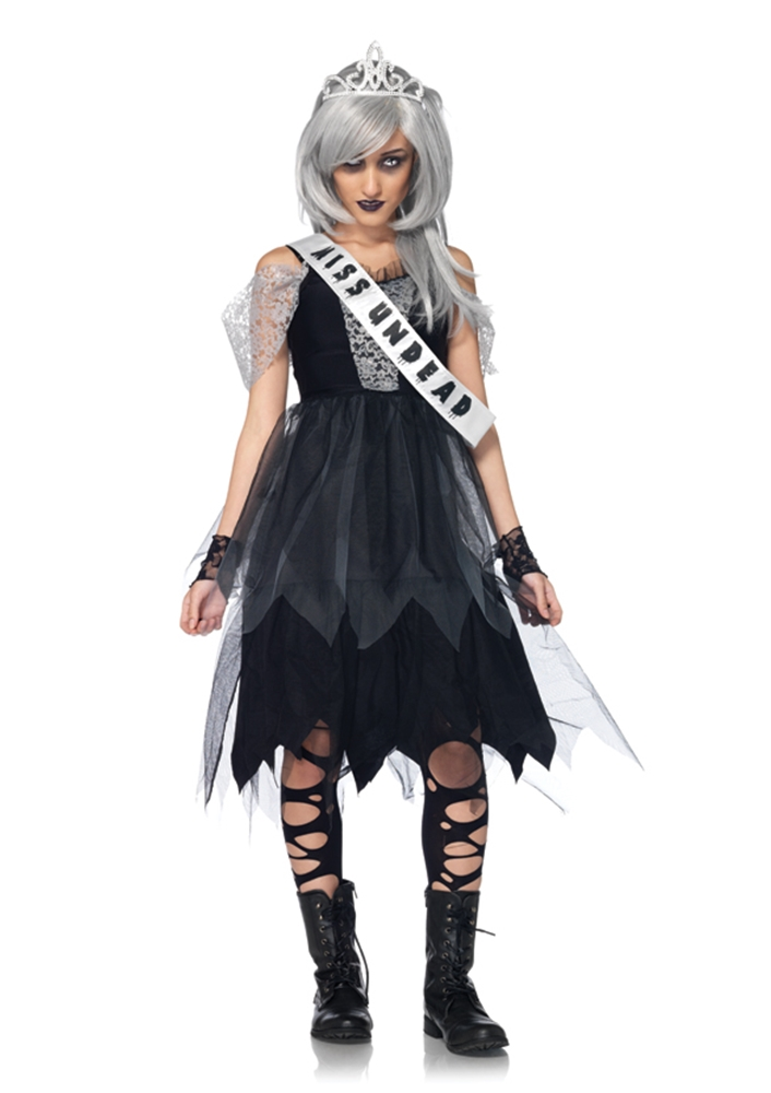 Zombie Prom Queen Junior Girls Costume