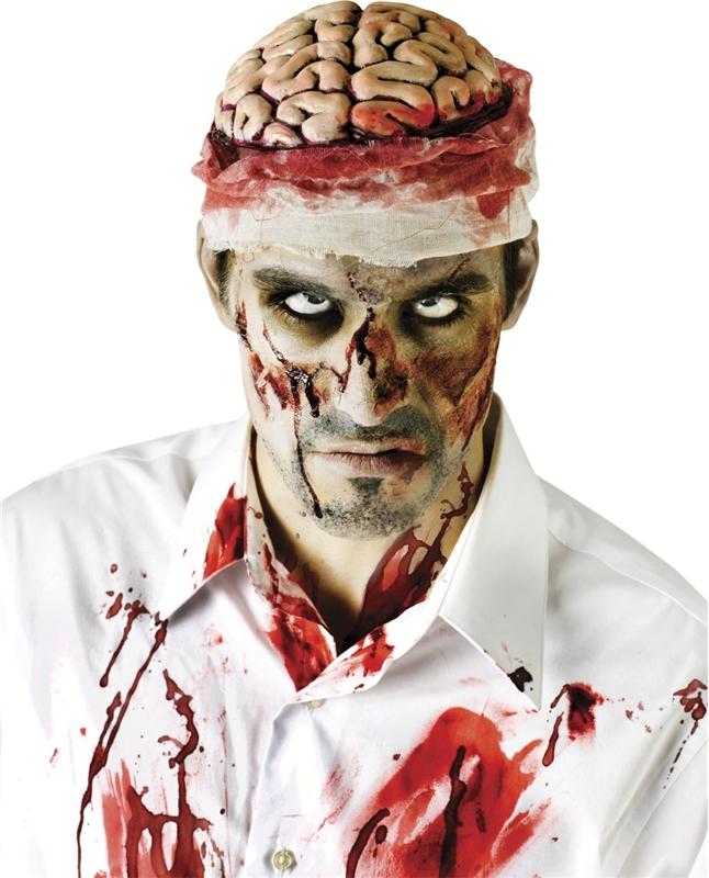 Zombie Brains Headpiece Adult