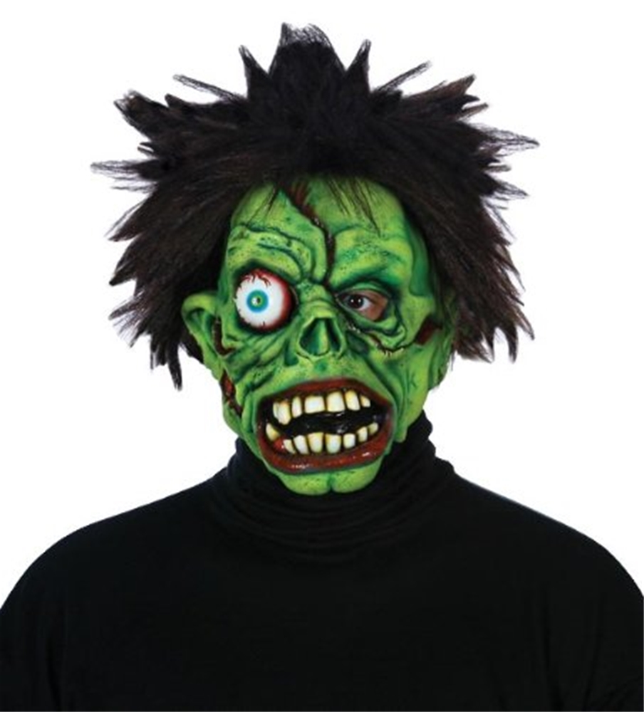 Zombie Green Monster Adult Mask