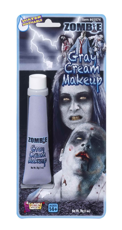 Zombie Grey Tube Makeup